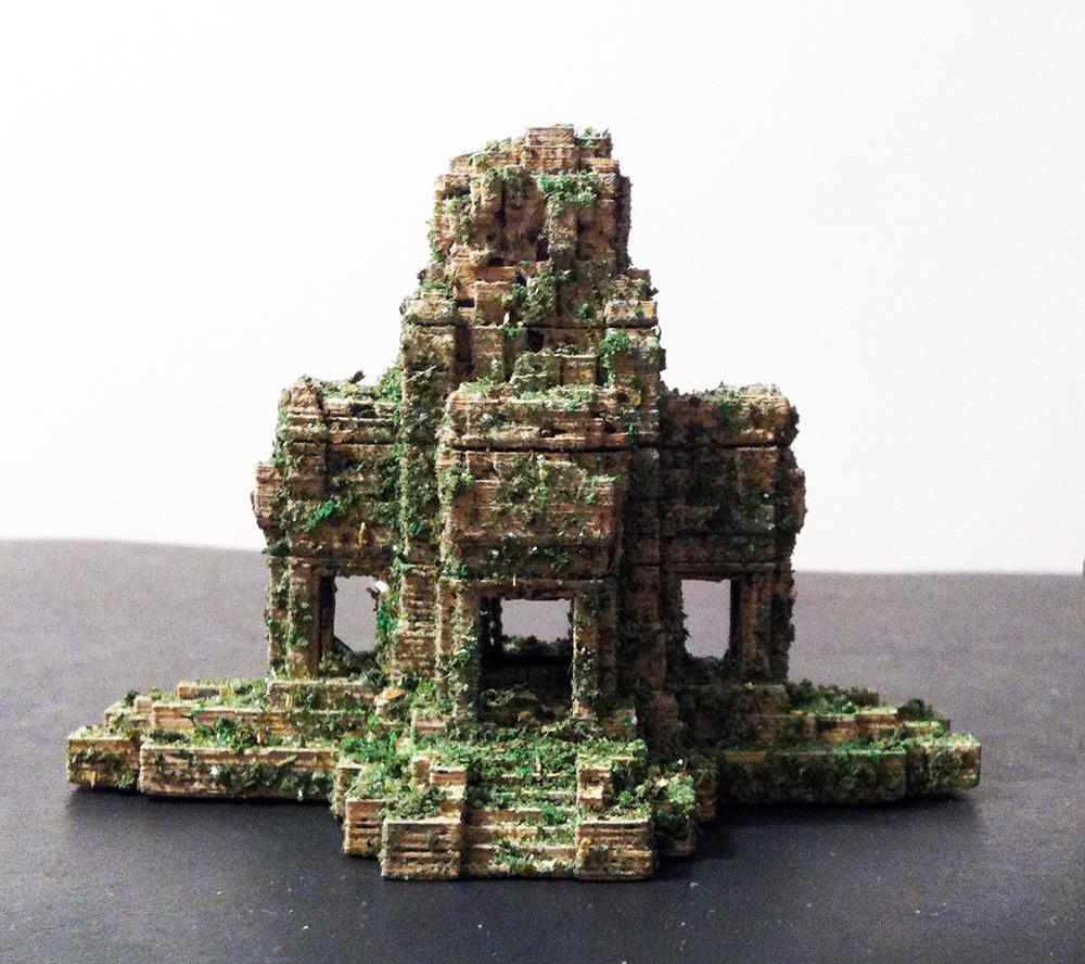 Ta Prohm temple inspired